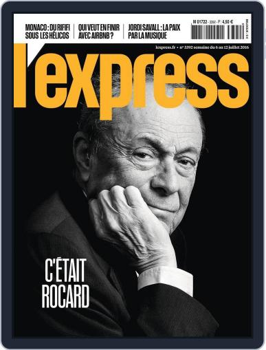 L'express (Digital) July 6th, 2016 Issue Cover