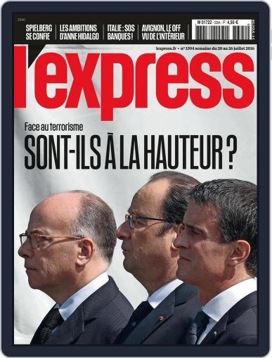 L'express (Digital) July 18th, 2016 Issue Cover