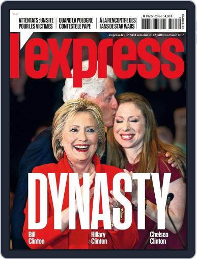 L'express (Digital) July 26th, 2016 Issue Cover