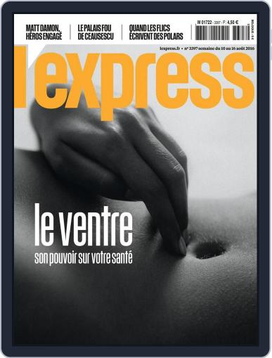 L'express August 10th, 2016 Digital Back Issue Cover