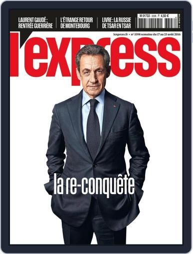L'express (Digital) August 17th, 2016 Issue Cover