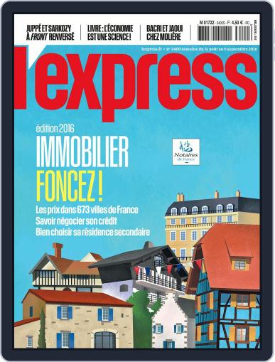 L'express (Digital) August 31st, 2016 Issue Cover