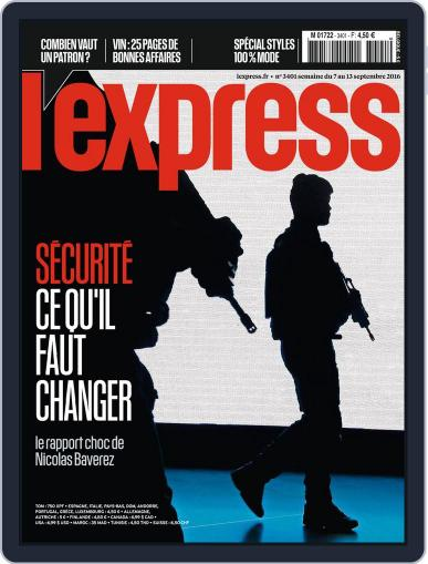 L'express (Digital) September 7th, 2016 Issue Cover