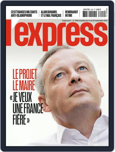 L'express (Digital) September 14th, 2016 Issue Cover