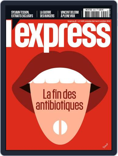 L'express (Digital) October 1st, 2016 Issue Cover