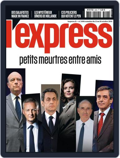 L'express (Digital) October 12th, 2016 Issue Cover