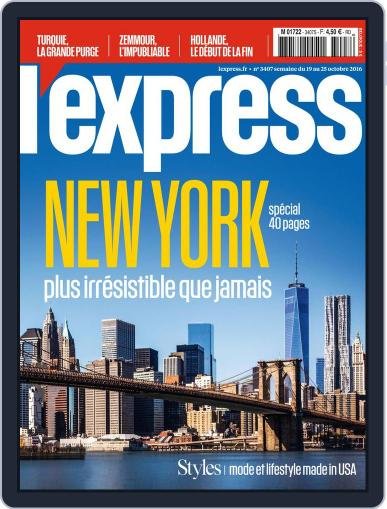 L'express October 19th, 2016 Digital Back Issue Cover