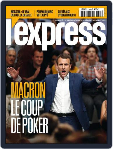 L'express (Digital) October 26th, 2016 Issue Cover