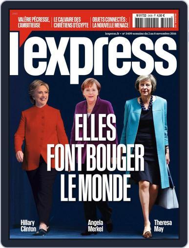 L'express November 2nd, 2016 Digital Back Issue Cover