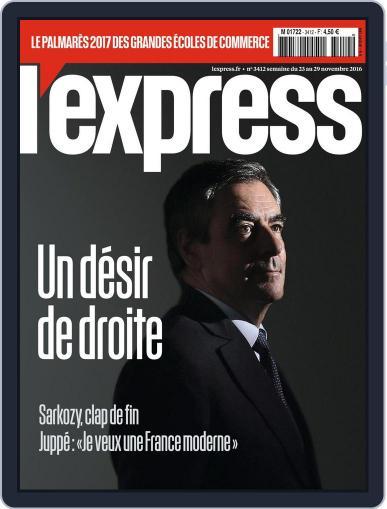 L'express November 23rd, 2016 Digital Back Issue Cover