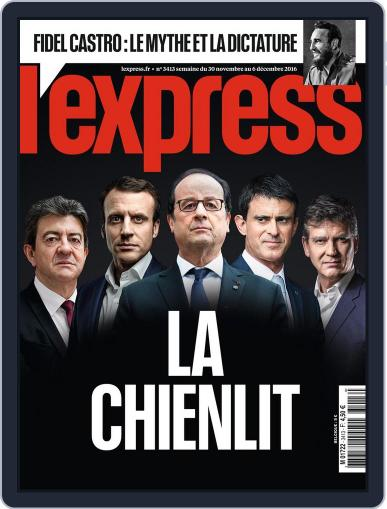 L'express (Digital) November 30th, 2016 Issue Cover