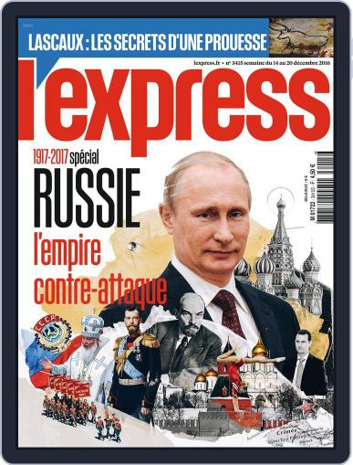 L'express (Digital) December 14th, 2016 Issue Cover