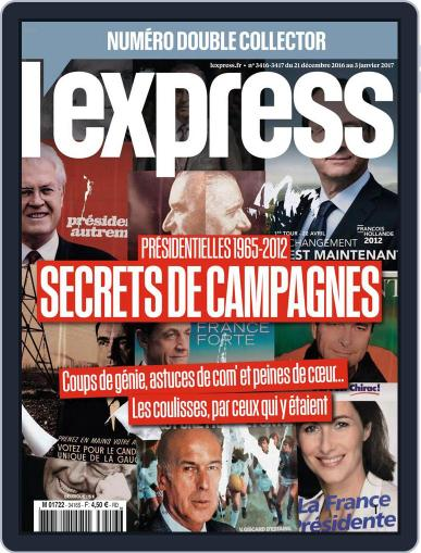 L'express (Digital) December 21st, 2016 Issue Cover