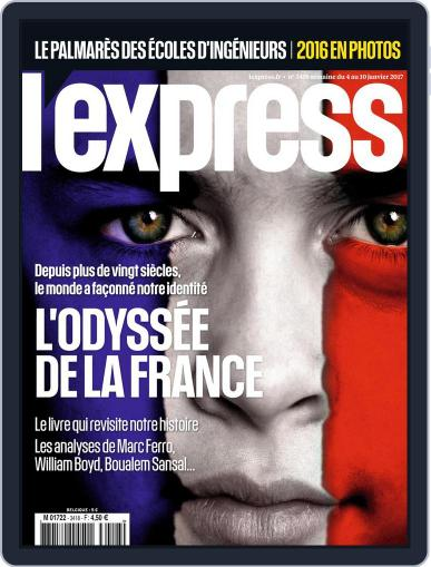 L'express (Digital) January 4th, 2017 Issue Cover