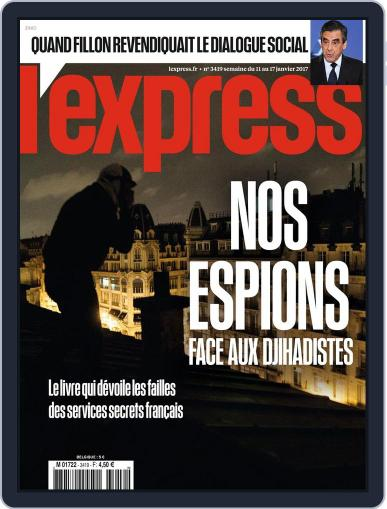L'express (Digital) January 11th, 2017 Issue Cover