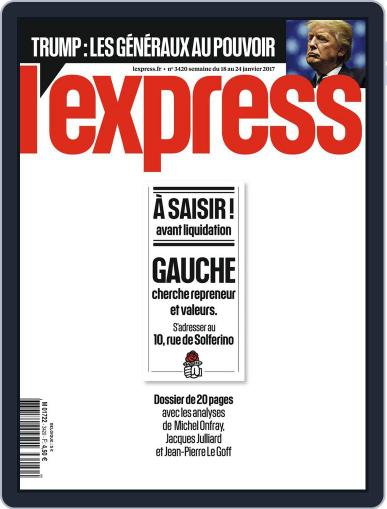 L'express (Digital) January 18th, 2017 Issue Cover