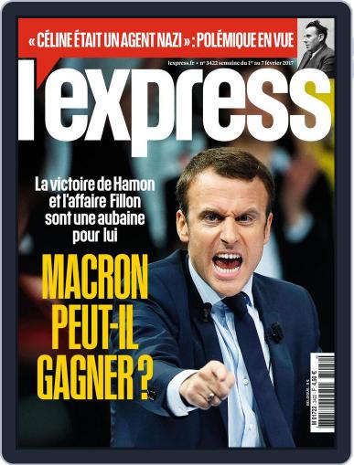 L'express (Digital) February 1st, 2017 Issue Cover