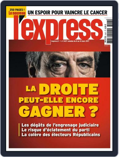 L'express March 8th, 2017 Digital Back Issue Cover