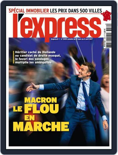 L'express March 29th, 2017 Digital Back Issue Cover
