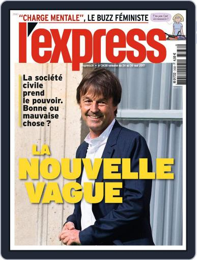 L'express (Digital) May 24th, 2017 Issue Cover