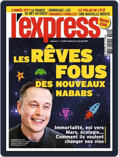 L'express August 9th, 2017 Digital Back Issue Cover