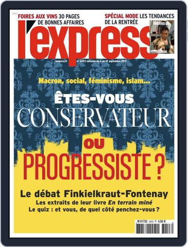 L'express (Digital) September 6th, 2017 Issue Cover