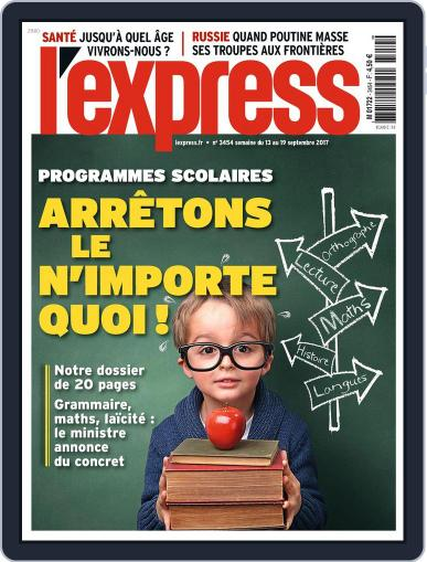 L'express (Digital) September 13th, 2017 Issue Cover