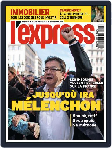 L'express (Digital) September 20th, 2017 Issue Cover