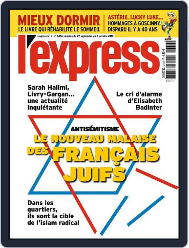 L'express (Digital) September 27th, 2017 Issue Cover