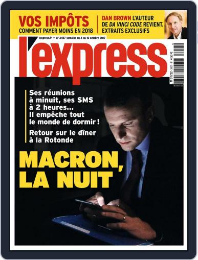 L'express (Digital) October 4th, 2017 Issue Cover