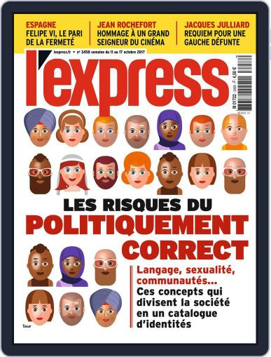 L'express (Digital) October 11th, 2017 Issue Cover