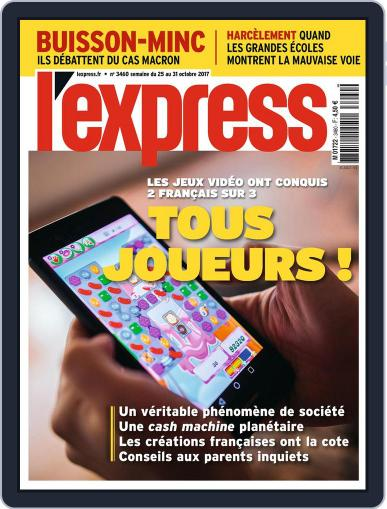 L'express October 25th, 2017 Digital Back Issue Cover