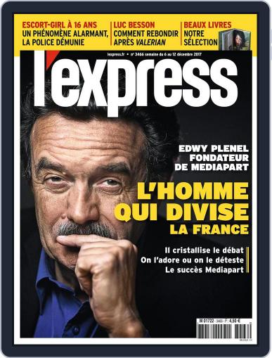 L'express December 6th, 2017 Digital Back Issue Cover