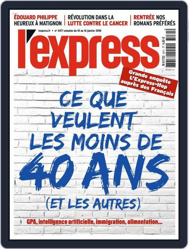 L'express (Digital) January 10th, 2018 Issue Cover