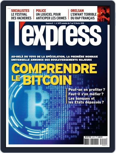 L'express (Digital) February 7th, 2018 Issue Cover