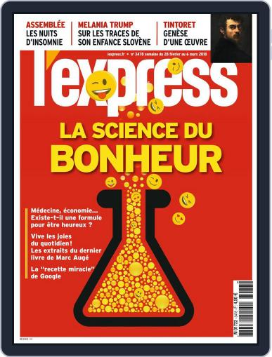 L'express (Digital) February 28th, 2018 Issue Cover