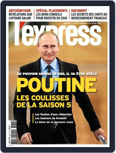 L'express (Digital) March 7th, 2018 Issue Cover