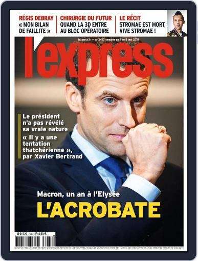 L'express (Digital) May 2nd, 2018 Issue Cover