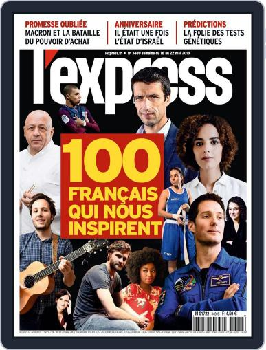 L'express (Digital) May 16th, 2018 Issue Cover