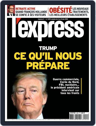 L'express (Digital) June 6th, 2018 Issue Cover