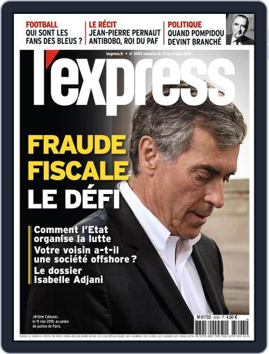 L'express June 13th, 2018 Digital Back Issue Cover