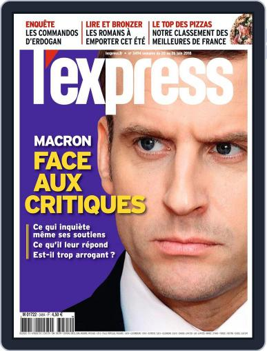 L'express (Digital) June 20th, 2018 Issue Cover