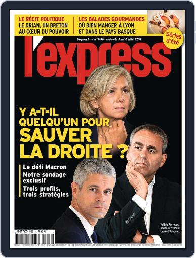 L'express (Digital) July 4th, 2018 Issue Cover