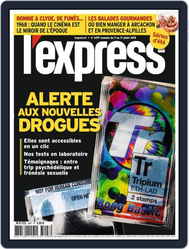 L'express (Digital) July 11th, 2018 Issue Cover