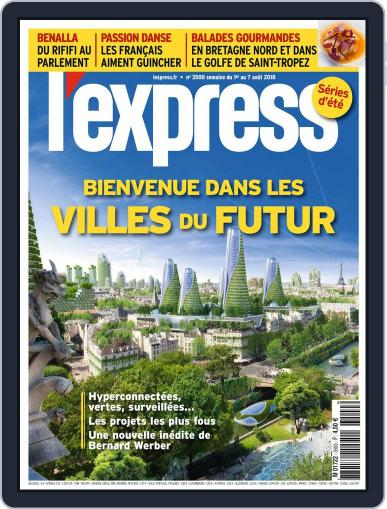 L'express July 31st, 2018 Digital Back Issue Cover