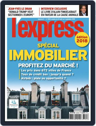 L'express August 29th, 2018 Digital Back Issue Cover
