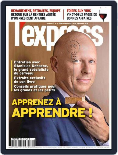 L'express September 5th, 2018 Digital Back Issue Cover