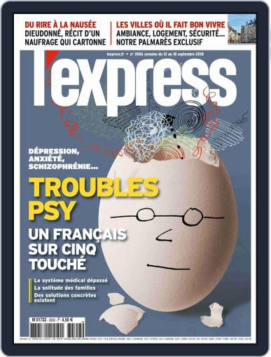 L'express (Digital) September 12th, 2018 Issue Cover