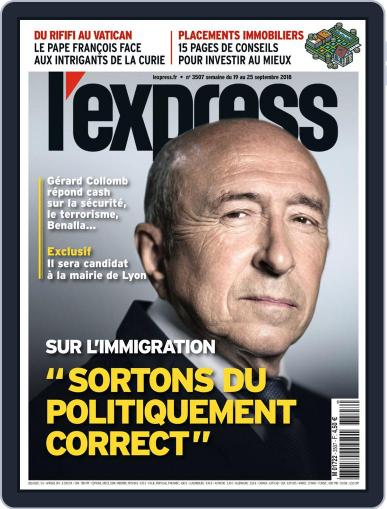 L'express September 19th, 2018 Digital Back Issue Cover