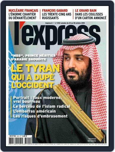 L'express (Digital) October 24th, 2018 Issue Cover